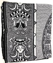 Mayan Calendar Blanket