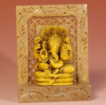 """Ganesh - Soapstone 4"""""""