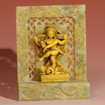 "Shiva  (Nataraj) - Soapstone 4"""