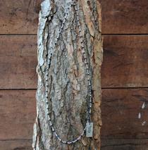 Tulsi Necklace - Black Beads