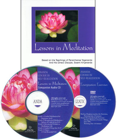 Ananda Course in Self-Realization.  A complete, practical training program in a path of meditation, the fundamentals of the spiritual path, good health, vitality, and affirmations.