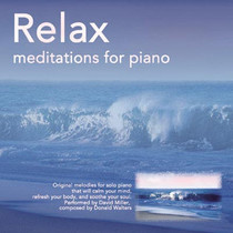 Relax Meditations for Piano CD