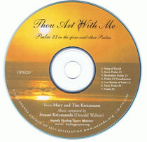 Thou Art With Me CD
