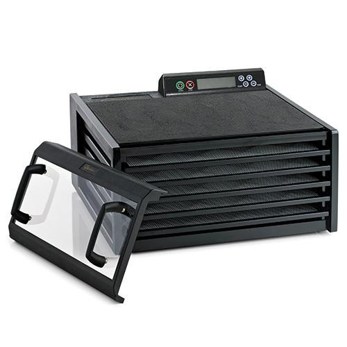 Excalibur Deluxe 5-Tray Dehydrator with Timer and Clear Door