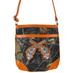 ORANGE PISTOLS MOSSY LOOK MESSENGER BAG MB1-10101ORG