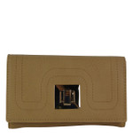 TAN PLAIN LOOK FASHION WALLET FW1-0203TAN