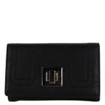 BLACK PLAIN LOOK FASHION WALLET FW1-0203BLK