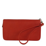 RED PLAIN LOOK FASHION WALLET FW1-0207RED