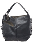 KADIE ASHMAN ANNA BLACK CONCEALED CARRY VEGAN LEATHER HANDBAG J88212BLK