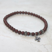 Panagia's Pearls Bordeaux Prayer Bracelet