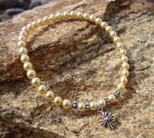 Panagia's Pearls Prayer Rope Bracelet