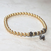 Panagia's Pearls Gold Prayer Bracelet