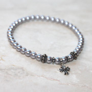 Panagia's Pearls Lavender Prayer Bracelet