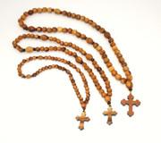 Olive Wood 50-bead Prayer Ropes