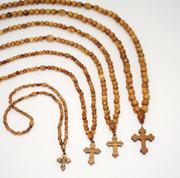 Olive Wood 100-bead Prayer Ropes