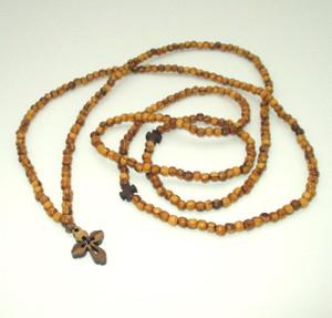 Olive wood 300-bead prayer rope