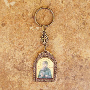 St. Anastasia key chain (front side)