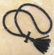 Double 4 ply 100 knot prayer rope