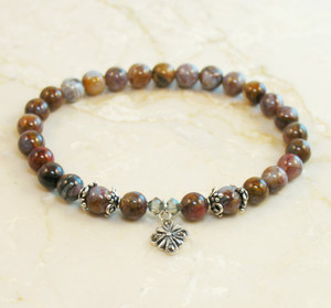 Pietersite Prayer Bracelet