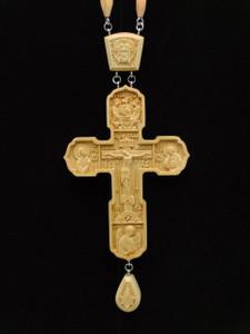 Pear wood Priest's Award Cross