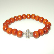 Wooden prayer bracelet