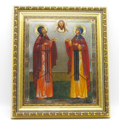 Icon of Sts. Peter & Fevronia of Murom