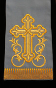Embroidered Gospel Marker - Blue