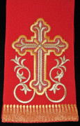 Embroidered Gosple Marker - Red