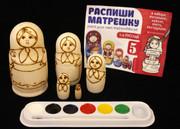 Paint Your Own Matryoshka Nesting Doll Set
