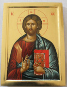 Hand-painted Icon of Christ