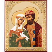 St. Peter and Fevronia icon