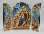 Nativity Triptych - Blue
