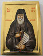Hand-painted Icon of St. Paisios of the Holy Mountain