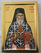 Hand-painted Icon of St. Porphyrios of Kafsokalivia