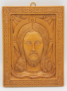 Aromatic Mastic Icon of Christ Made Without Hands