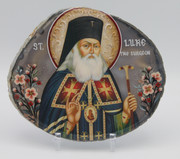 Agate Icon - St. Luke of Simferopol 2