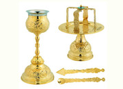 Gold-plated Chalice Set