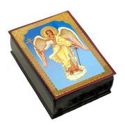 Guardian Angel Wood Laquered Box 2