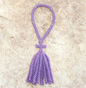 50-Knot Russian Prayer Rope - 2 ply Lavender