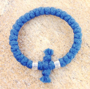 33-knot Bracelet with Cross Bar - 4 ply