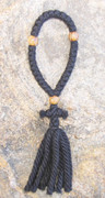 33-Knot Russian Prayer Rope - 4 ply with Olive Wood Beads