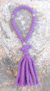 33-Knot Russian Prayer Rope - 4 ply Lilac