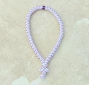 50-Knot Greek Prayer Rope - Lavender Satin
