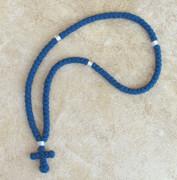 100-knot Greek Prayer Rope - 2 ply Cobalt Blue