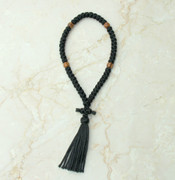 50-knot Russian Prayer Rope - with Olive Wood Beads