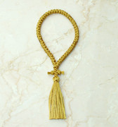 50-knot Russian Prayer Rope - Gold