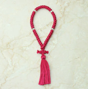50-knot Russian Prayer Rope - Rose