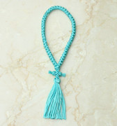 50-knot Russian Prayer Rope - Turquoise