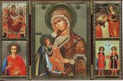 Triptych 1 - Panagia & Saints