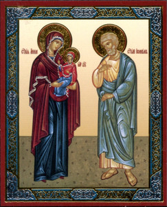 Icon of Sts. Joachim & Anna